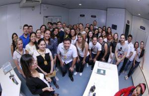 Estudantes de Farmácia da Nassau visitam o Lafepe