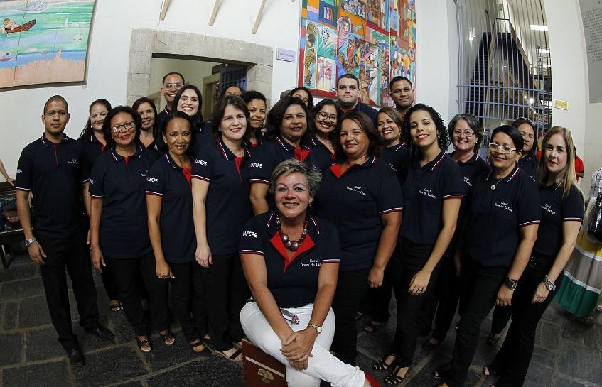 Vozes do Lafepe no Festival Nacional de Corais